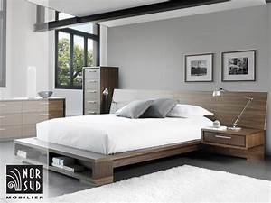 mobilier nor sud mobilier de chambre a coucher contemporain With chambre a coucher contemporaine design