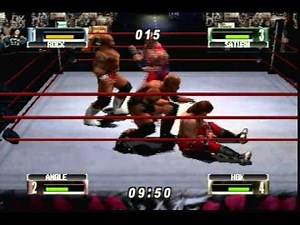 Let's Play WWF No Mercy N64 - Royal Rumble Part (1 of 2)
