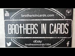 Brothers In Cards Gold Basketball Box August 2019