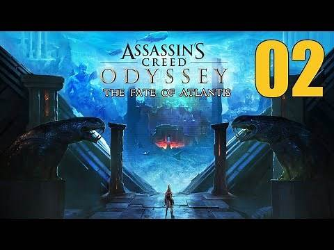 Assassin's Creed Odyssey Fate of Atlantis - Let's Play 2: The Seal