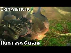 Hunting a Congalala | Hunting Guide | Monster Hunter 4 Ultimate