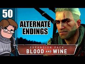Let's Play The Witcher 3: Blood and Wine Part 50 - White Roses (Alternate Endings)