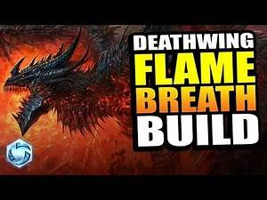 DEATHWING flame breath build!! // Heroes of the Storm PTR