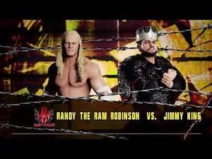 "WWE 2K18: Randy ""The Ram"" Robinson vs Jimmy King - House of Hardcore {Full Match Highlights}"