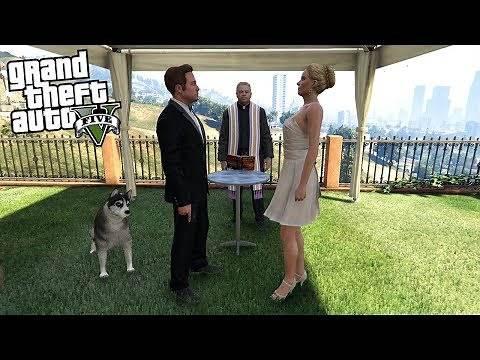 GETTING MARRIED IN GTA 5 (GTA 5 Mods)