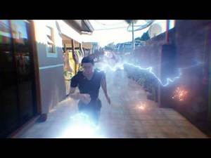Justice League Flash Slow Motion Effect - TEST RENDER