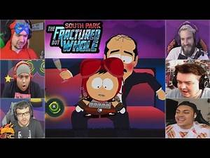 Gamers Reactions to the Lap Dance Mini Game (Part 1)   South Park™: The Fractured But Whole