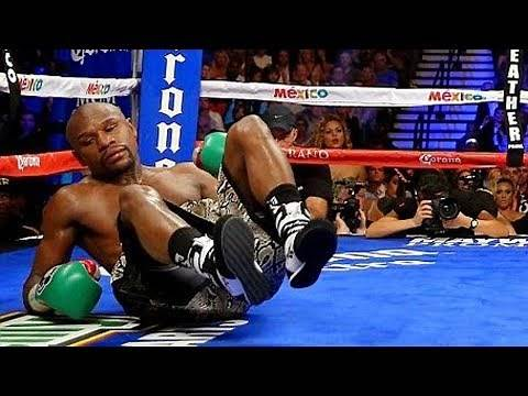 Floyd Mayweather KNOCKED OUT by Sparring Partner Zab Judah