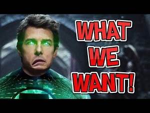 WHAT WE WANT! in Green Lantern Corps 2020 #FilmTopic