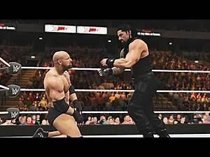 WWE 2K17 Gameplay Live Stream