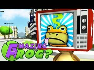 Amazing Frog Gameplay - TV COLLECTION CHALLENGE - Part 7 | Pungence