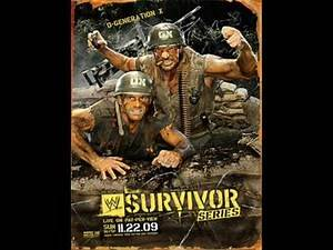 WWE Survivor Series 2009 Official Theme Song