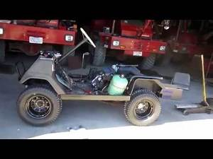 Yamaha G1 Part 27: Golf Cart Body Work and Exhaust