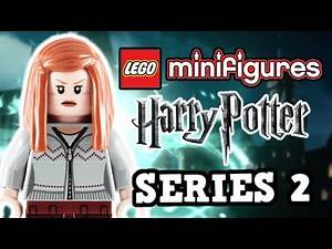 LEGO Harry Potter Collectible Minifigures Series 2 List Revealed!