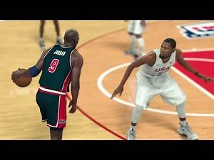 NBA 2K17 - '16 USA TEAM vs '92 USA DREAM TEAM (Epic Full Game)