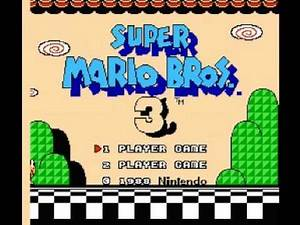 Super Mario Bros 3 (NES) Music - Game Over