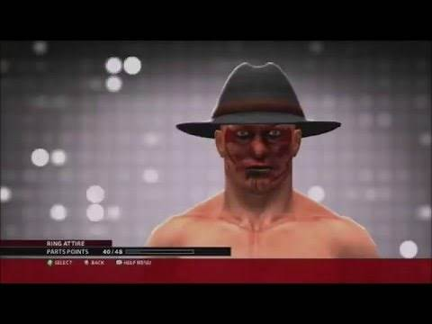 How To Make Jason Voorhees And Freddy Krueger On WWE 2K16 Superstar Creator