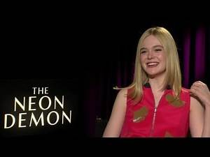 Elle Fanning on 'Neon Demon' glamour, horror