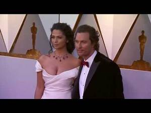 Oscars 2018 Arrivals: Matthew McConaughey