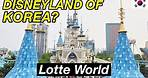 BIGGEST Indoor Theme Park in Asia!   Lotte World Adventures in Seoul, South Korea