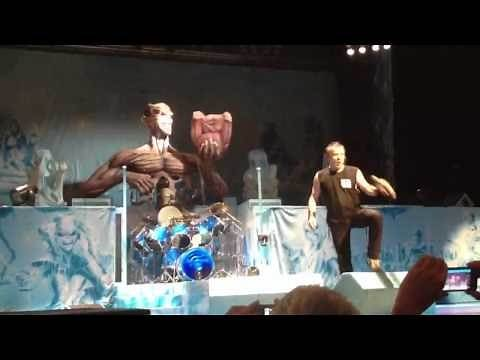 """Iron Maiden """"Iron Maiden"""" Live Eddie Charlotte, NC June 21, 2012"""