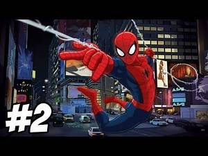 Ultimate Spider-Man Walkthrough | Wolverine Boss Fight | Part 2 (Xbox/PS2/Gamecube/PC)