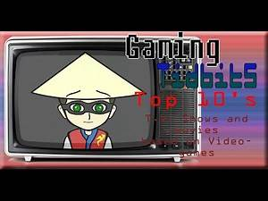 Top 10: shows and movies based on Video Games
