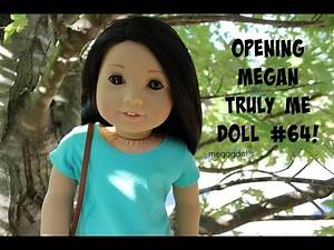 Opening Megan American Girl doll Truly Me #64!