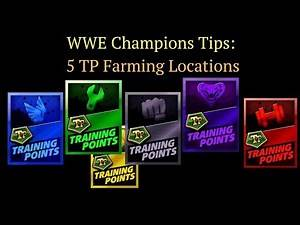 WWE Champions Tips - Best Way to Farm 5 TP