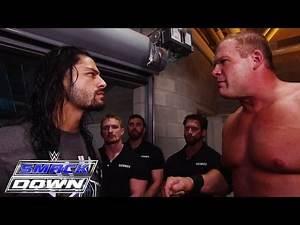 Kane kicks Roman Reigns off SmackDown: SmackDown, June 25, 2015