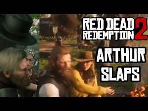 Every Single Slap Arthur Morgan Took Red Dead Redemption 2