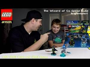 Lego Dimensions: Wizard of Oz Fun Pack #71221 Speed Build & Gameplay - HTG