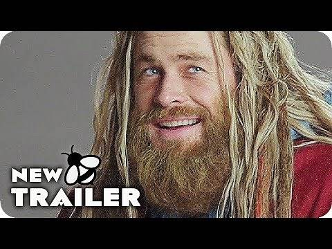 AVENGERS 4: ENDGAME The New Thor Version Bonus Clip & Trailer (2019) Marvel Movie