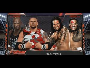 The Dudley Boyz V.S. The Usos -WWE 2K16 GAMEPLAY