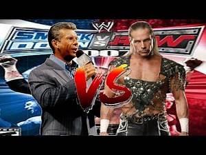 WWE Smackdown vs Raw 2007 Vince Mcmahon CAW vs Shawn Michaels