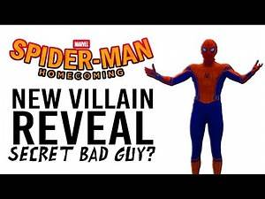 Spider-man Homecoming: NEW VILLAIN REVEALED | Geekerzone
