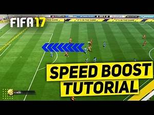 FIFA 17 SPEED BOOST TUTORIAL - BEST PACE BOOST TRICK - HOW TO GLITCH DEFENDERS