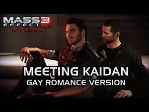 Mass Effect 3 Citadel DLC: Meeting Kaidan (Gay Romance, version 1)
