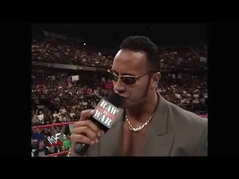 The Rocks Funeral For Stone Cold Steve Austin Segment Raw 04.19.1999