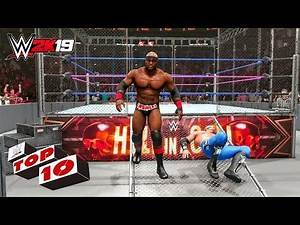 WWE 2K19 Bobby Lashley Top 10 OMG Moments Compilation