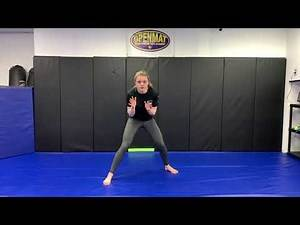 Kids At Home Drills: Wrestling Stance and foot work