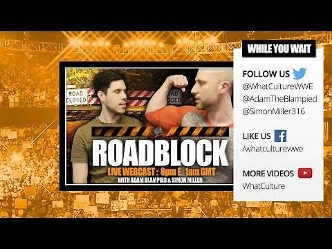 WWE Roadblock 2016: Live Webcast (Full Show)