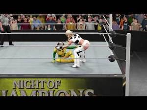 WWE 2K17 Dixie Clemets vs. Rogue - Submission Match