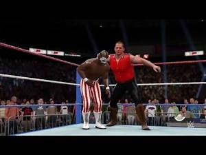 The Mountie vs Virgil - WWF Prime Time Wrestling March 1992 (WWE 2K16 Universe)