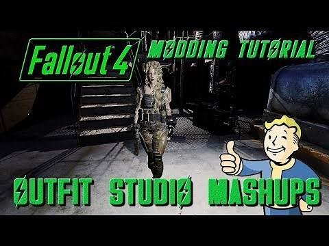Fallout 4 Tutorial: Outfit Studio Mashups