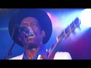 Chuck Berry alive and kicking with Earl Jackson at Zeeltje Rock The Netherlands 2019.