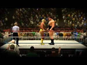 WWE 2K14: Wresltemania 3: Hulk Hogan Vs. Andre The Giant (WWF Championship)