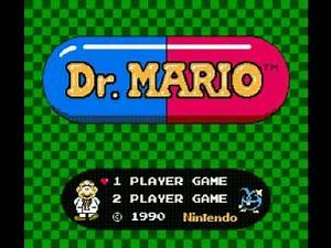 Dr. Mario (NES) Music - Game Over