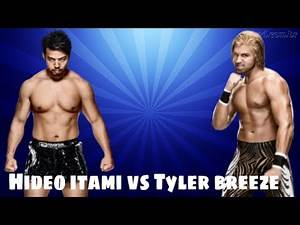 WWE NXT - 2015 - Hideo Itami vs Tyler Breeze - Normal Full Match