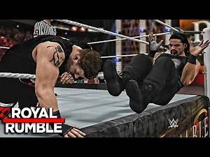 WWE Royal Rumble 2017 - Roman Reigns vs Kevin Owens WWE Universal Title Match - WWE 2K17